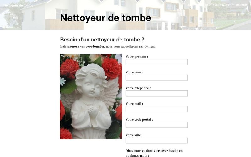 Nettoyer une tombe à distance